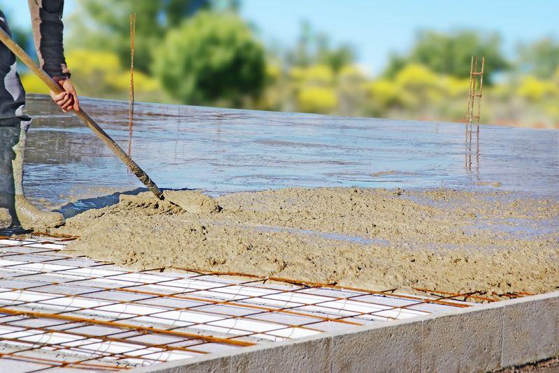 Plancher en b ton arm prix paisseur - Construire un plancher beton ...